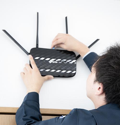 業務用Wi-Fi構築